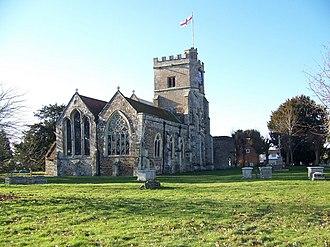 Fordingbridge - St Mary's church