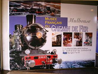 Cité du Train - Poster of the museum