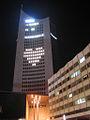 City-Hochhaus Leipzig at night.jpg