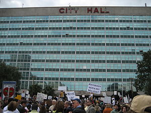 New Orleans City Council - Image: City Hall NOLA Anybody Seen My Mayor