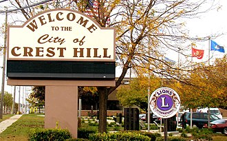 Crest Hill, Illinois - City Hall - Fall 2011