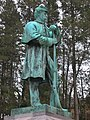 Civil War Soldier Monument, Springfield Cemetery, Springfield, MA - January 2016.JPG