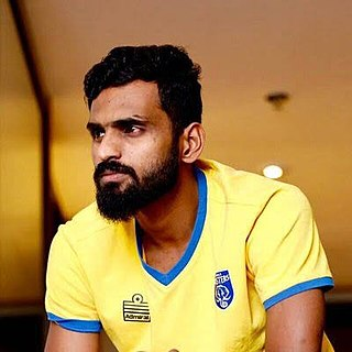 C. K. Vineeth Indian footballer