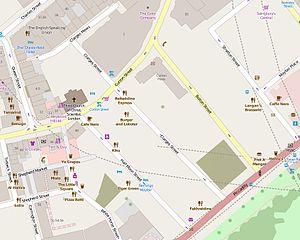 Bolton Street, London - The immediate vicinity of Bolton Street