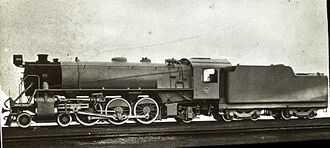 South African type KT tender - Image: Class 16D 4 6 2 no. 860