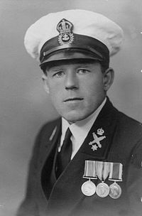 Claude Choules in uniform
