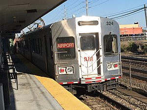 RTA Rapid Transit - Image: Cleveland Red Line Train 10 2015