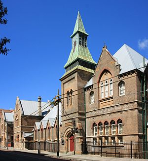 Surry Hills, New South Wales - Cleveland Street Intensive English High School
