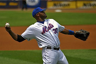 Cliff Floyd - Floyd with the Mets