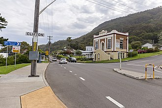 Clifton, New South Wales - View of Clifton from the Lawrence Hargrave Drive.