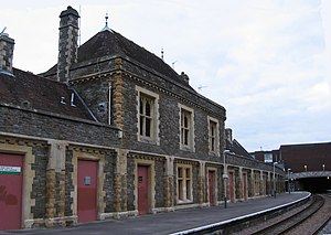 Clifton East (ward) - Clifton Down railway station, which is located in the Clifton East ward.