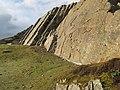 Climbing slabs - geograph.org.uk - 1151139.jpg