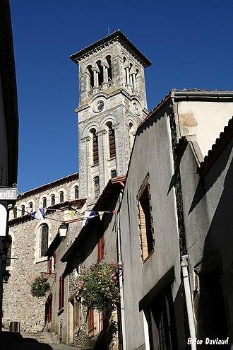 Église Notre Dame (Clisson) - Image: Clisson Tire Jarret