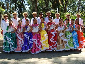 Chilean Mexicans - Las chilenas, a musical expression of the Costa Chica which has its origins in the Chilean foklore called cueca.