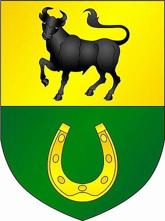 Urban-type settlements in Belarus - Image: Coat of Arms of Żołudek