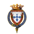 Coat of Arms of Infante Peter, Duke of Coimbra, KG.png