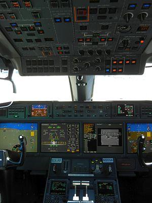 Gulfstream G650 - G650 cockpit