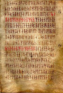 Runes Ancient Germanic alphabet