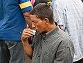 Coffee drinking vegetable seller.jpg