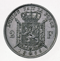Coin BE 2F Leopold II shield rev FR 24.png