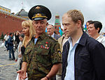 Col. Gen. Valery Vostrotin at the Red Square.jpg