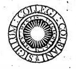 Seal of Colby College - The Colby College Seal, c. 1936, redesigned by William Addison Dwiggins