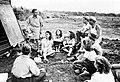 Collectie NMvWereldculturen, TM-10021663, Repronegatief 'Les aan Joden op Curaçao die van plan zijn naar Palestina te gaan', fotograaf niet bekend, 1947.jpg