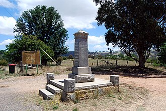 Collector, New South Wales - The War Memorial at Collector