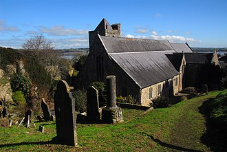 Collegiate Church of St Mary Youghal - Image: Collegiate Church Rear