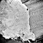 Columbia Glacier, Calving Terminus, Terentiev Lake, August 24, 1987 (GLACIERS 1419).jpg
