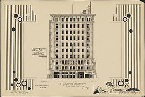 Columbia Amusement Company - Image: Columbia Theatre 1920 by Anthony F. Dumas