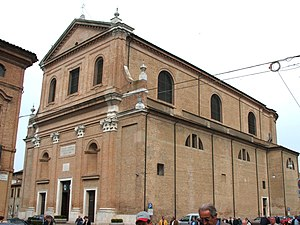 Roman Catholic Archdiocese of Ferrara-Comacchio - Cathedral in Comacchio