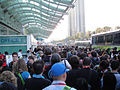 Comic-Con 2010 - the crowd in front of the convention center at the end of the day (4874250911).jpg