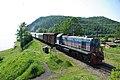 Commuter train of Circum-Baikal Railway, TEM2-5419 (32234230086).jpg
