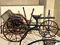 Compiègne (60), musée de la Voiture, tricycle-tandem en bois, 1860.jpg