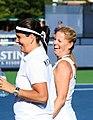 Conchita Martínez & Kathy Rinaldi at the 2010 US Open 01.jpg