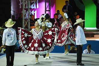 Querétaro - Scene at the 2011 National Huapango Dance Competition in Pinal de Amoles