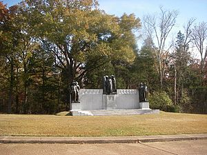 Shiloh National Military Park - Image: Confederate Memorial Shiloh National Military Park