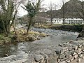 Confluence of rivers at Beddgelert - geograph.org.uk - 1801252.jpg