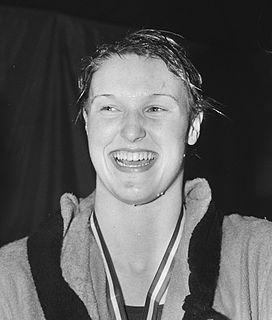 Conny van Bentum Dutch swimmer