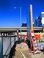 Construction east of Old Easteren Avenue, 2016 03 19 (14) (25889444766).jpg
