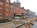 Construction of Odense Letbane on Østre Stationsvej 01.jpg