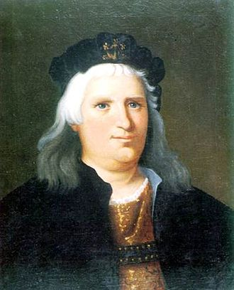 John Corvinus - Portrait by Imre Madách.
