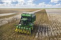 Cotton harvester in Batesville, Texas field - angle view.jpg