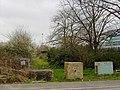 Counter-itinerant barrier, Barnfield Road, Swindon - geograph.org.uk - 366705.jpg