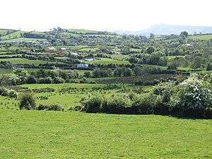 Ulster - Image: Countryside west of Ballynahinch geograph.org.uk 466768
