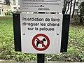 Cour commune Boulevard des Brotteaux - Cours Lafayette - Rue Ney - Rue de Brotteaux (Lyon) - panneau.jpg