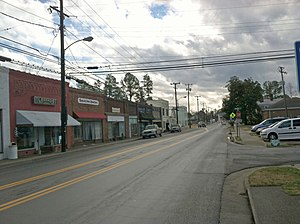 Courtland, Virginia - A view of Main Street in Courtland, Virginia