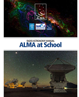 Science outreach - Cover of the ALMA radioastronomy manual.