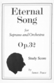 Cover page, Eternal Song Op.32 by James Peace (study score).png